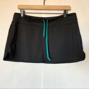 Athleta adjustable swim skirt
